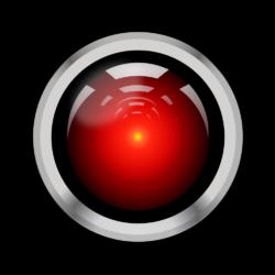 Intelligenza Artificiale HAL 9000 - riproduzione