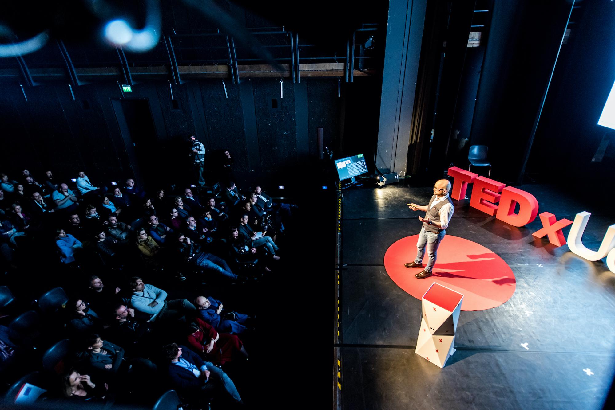 TEDx Udine 2019 Mario Ubiali