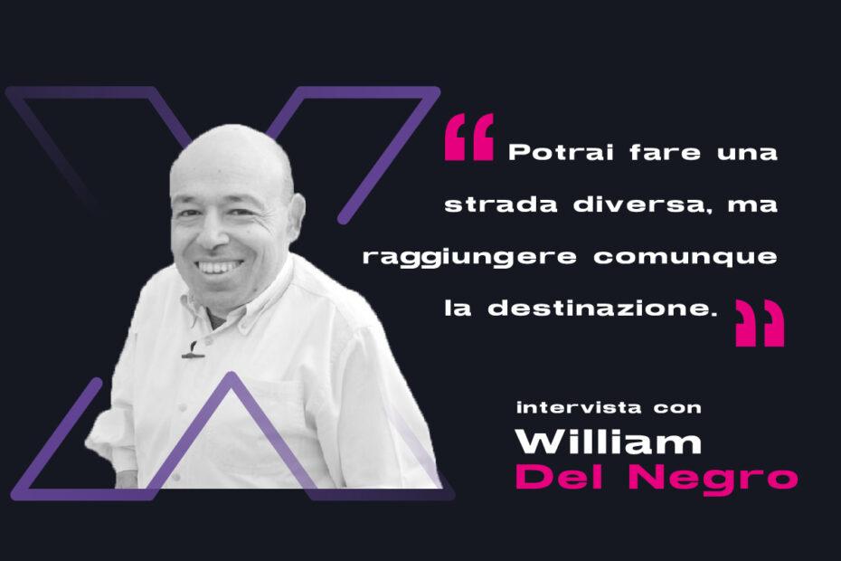 Intervista William del Negro