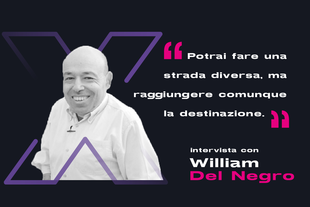 Intervista William del Negro